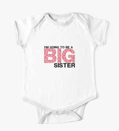 Big Sister One Piece - Short Sleeve