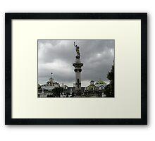 Another View Of Quito Ecuador Framed Print