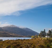 Lakeside View, Ring of Kerry, Ireland by John Hall