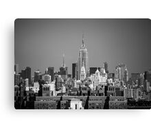 Empire State Building from Brooklyn Bridge Canvas Print