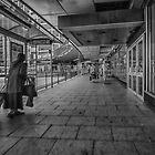 Leeds Station Mono by Glen Allen
