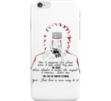 Jiraiya's Death Quote iPhone Case/Skin