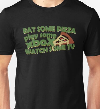 Eat Some Pizza Unisex T-Shirt