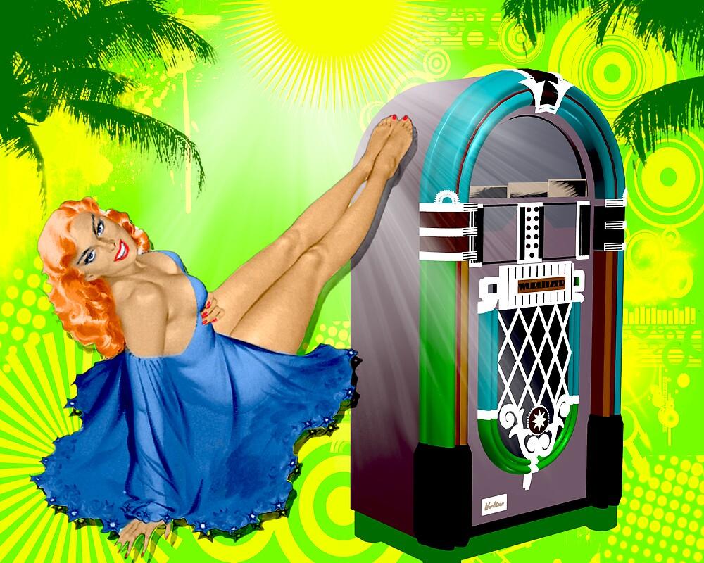 Vintage Jukebox by krddesigns