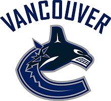 Vancouver Canucks Logo  by Misco Jones