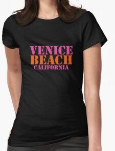 Venice Beach California Womens Fitted T-Shirt