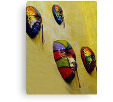 Hacienda Masks In Santiago Panama Canvas Print