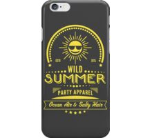 Wild Summer iPhone Case/Skin