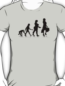 Human Evolution 10 T-Shirt