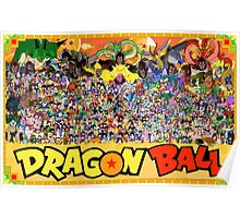 Dragon Ball (All Characters) Poster