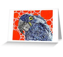 Parrodot Greeting Card