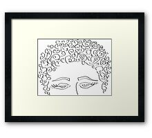 pretty cool - prints, cards & posters Framed Print