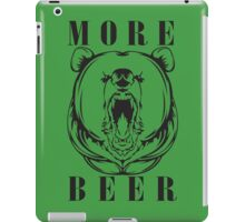 More Beer iPad Case/Skin