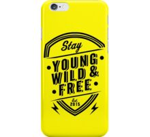 Young Wild Free iPhone Case/Skin