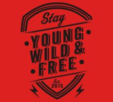 Young Wild Free One Piece - Short Sleeve