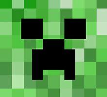 The Creeper Face by KewlZidane