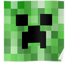 The Creeper Face Poster