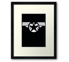 Geek Fusion : Captain SHIELD Framed Print