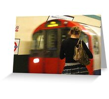 Grainy day in London Greeting Card