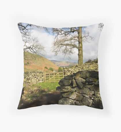 Martindale Farm Throw Pillow