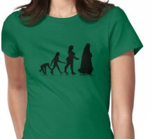 Human Evolution 11 Womens Fitted T-Shirt