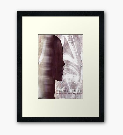 Faith Lehane - The Dark Slayer Framed Print