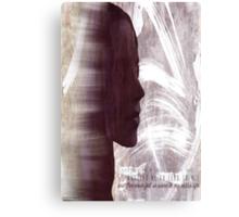 Faith Lehane - The Dark Slayer Canvas Print