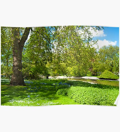 Springtime in St James' Park London Poster