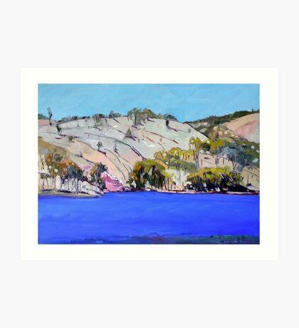 Connolly Dam Art Print