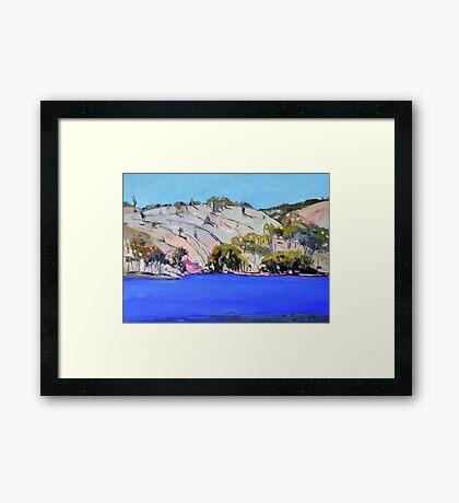 Connolly Dam Framed Print