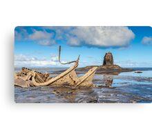 Admiral Von Tromp Ship Wreck Canvas Print