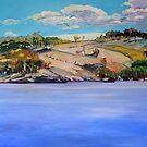 Connolly Dam 2 by Paul  Milburn