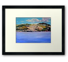 Connolly Dam 2 Framed Print
