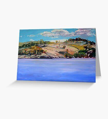 Connolly Dam 2 Greeting Card
