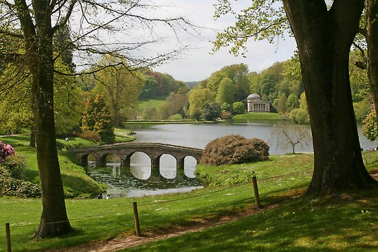 Stourhead in Springtime by RedHillDigital