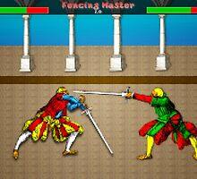 Fencing Master 8 bit HEMA tribute by ArmedBeardy