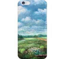 Pastoral Landscape Displaying Fallen Horse Apples iPhone Case/Skin