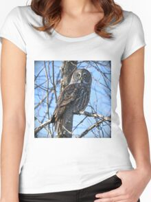 Watcher of the woods Women's Fitted Scoop T-Shirt