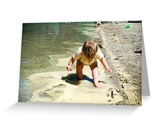 Gracie In Slocan Greeting Card