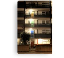 Coloured Doors Canvas Print