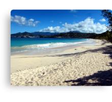 Grand Anse Beach, Grenada. Canvas Print