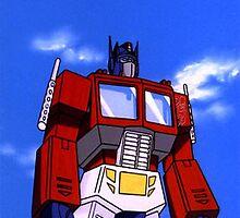 Optimus Prime by atheatregirl