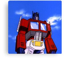 Optimus Prime Canvas Print
