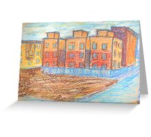Cityscape Greeting Card