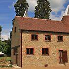 Oast house in Kent England by Tony Kemp
