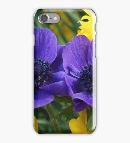 Anemone & Jonquils iPhone Case/Skin