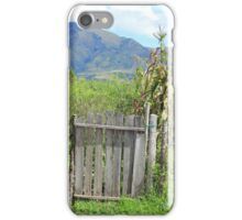 Wood Gate and Field iPhone Case/Skin