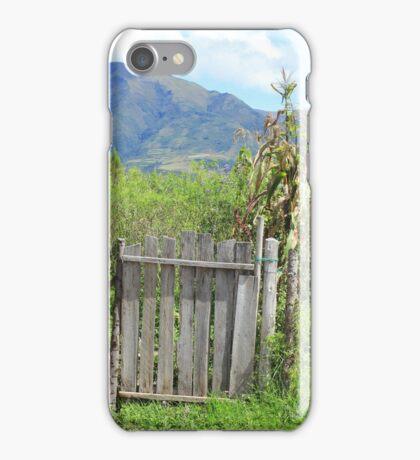 Wood Gate and Field iPhone Case/Skin