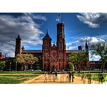Smithsonian Castle HDR Photographic Print