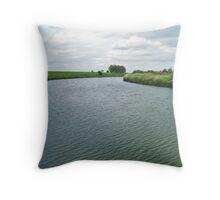 The River Derwent Throw Pillow